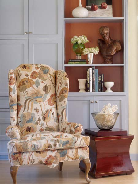 Inspired By Fall Leaves Colors, Modern Wallpaper Patterns, Interior Paint  Colors, Furniture Upholstery Fabric And Room Decorating Accessories Create  ...