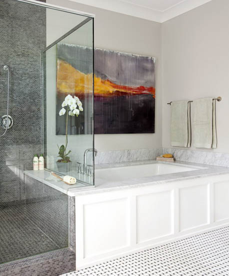 Organic Design And Decor, Modern Bathroom And Kitchen