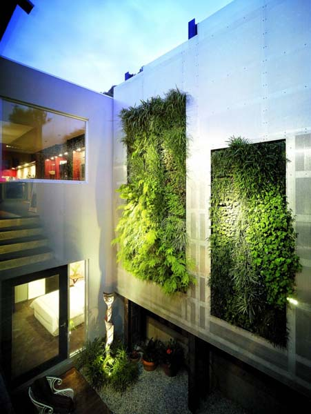 small backyard ideas and vertical garden design for contemporary homes exteriors