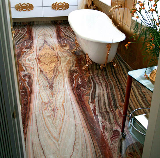 small bathrooms design with onyx bathroom floor tiles