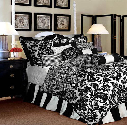 Dark Brown Bedding Sets In Solid Colors Or With Geometric Designs  Strengthen Men, Who Select This Predominantly Male Bedding Fabric Color For  Comfortable, ...