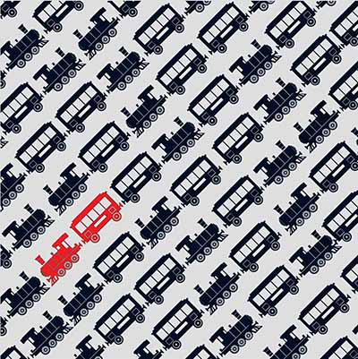 black and white wallpaper for kids with diagonal car images