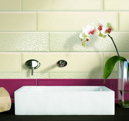 contemporary brick wall tiles for bathroom and kitchen