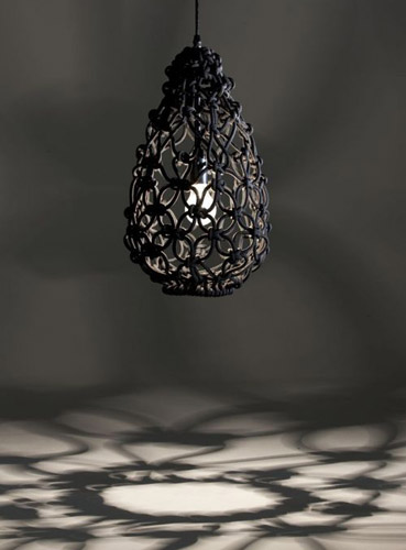 hanging lamp and room decorating with shadows