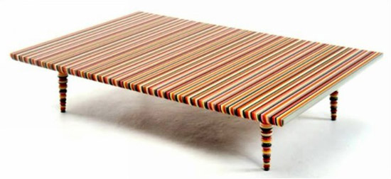 modern furniture design, european furniture with stripes