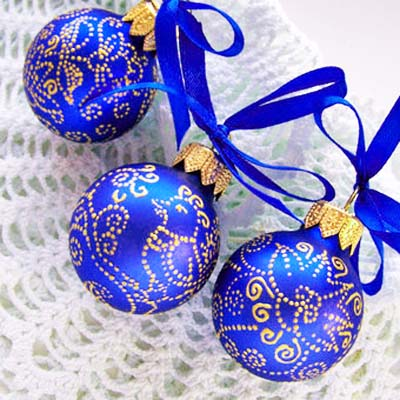 top 10 golden blue christmas decoration ideas modern christmas decor - Blue And White Christmas Decorations