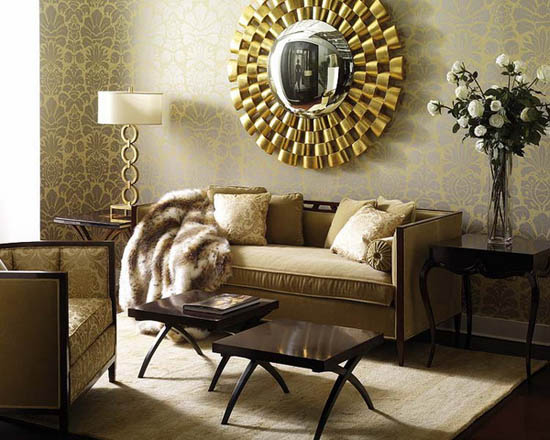 Tips From Professional Decorators Help To Select Golden Yellow Home Decorations And Create Elegant Modern Interior Decor