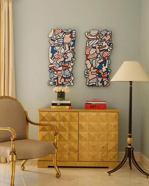 Bedroom Decorating Ideas Modern Black Romantic Bedroom Bedroom Door Color Design Bedroom Color Schemes With Gold: Golden Interior Decorating Ideas, Modern Room Decor