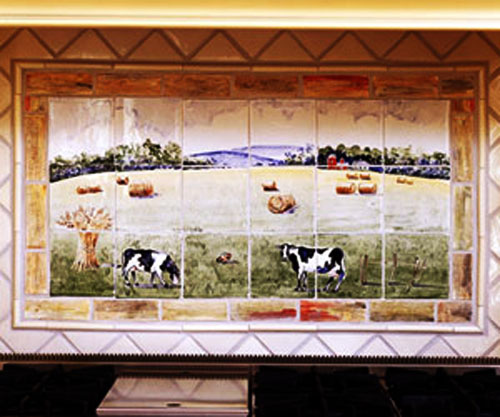 Hand Painted Wall Tiles Simple Ways To Decorate Old