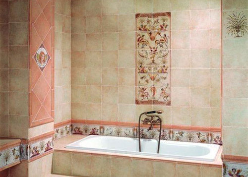 Hand Painted Wall Tiles, Simple Ways to Decorate Old Bathroom and