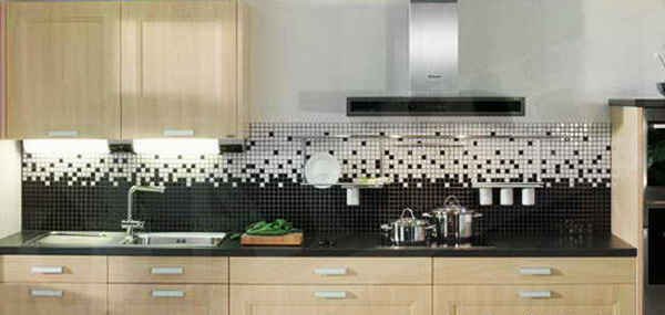 surprising kitchen wall tile designs | Mosaic Tiles and Modern Wall Tile Designs in Patchwork ...
