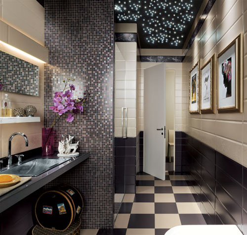 Contemporary Tile Design Ideas: Mosaic Tiles And Modern Wall Tile Designs In Patchwork
