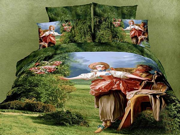 french tapestry inspired modern bedding sets