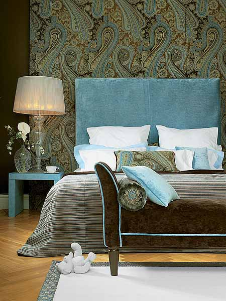 Comforters Bedspreads And Window Curtains Made Of Patchwork Fabric Is Another Attractive Trend In Modern Bedroom Decorating