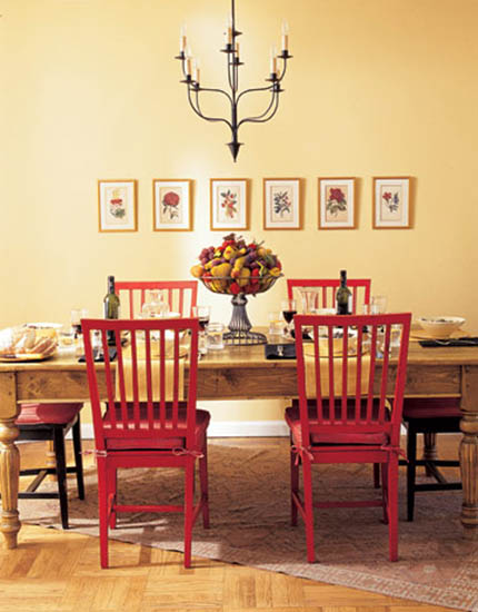 15 Tips for Interior Decorating with Bright Red Color Accents or ...