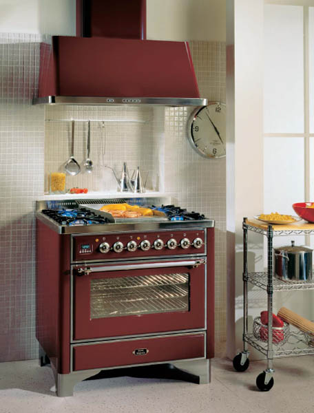Gas Stoves And Ovens, And Electrical Kitchen Appliances For Cooking  Demonstrate Elegant And Creative Styling, Which Is Excellent For Luxurious  Modern ...