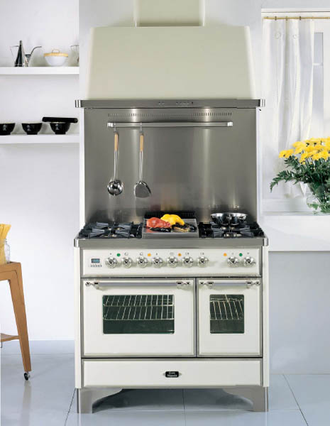 Retro Kitchen Design, Vintage Stoves For Modern Kitchens In Retro Styles