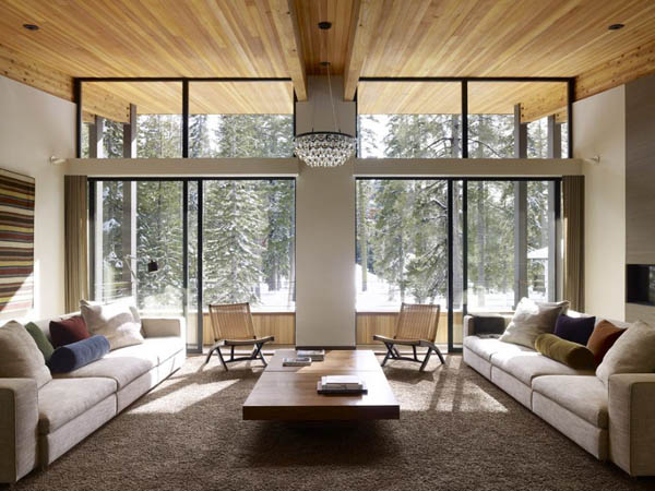 modern furniture living room wood. Modern Eco Homes With Wooden Ceiling, Wood Wall Panels And Furniture Modern Living Room T