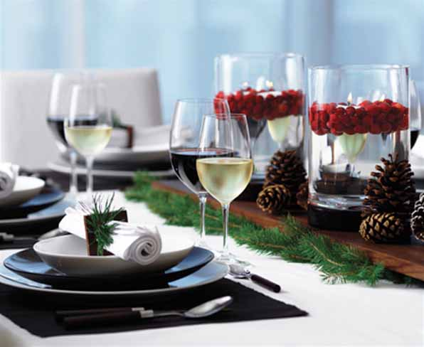 Modern Commercial Christmas Tree Decorations And Table Centerpieces Have Short Lives Create Pollution Waste Green Holiday Decorating Ideas Simplify