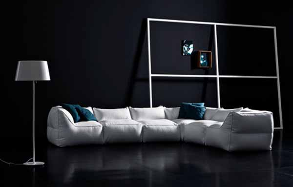 Italian furniture for living rooms from pianca european designs - Italian small space furniture design ...