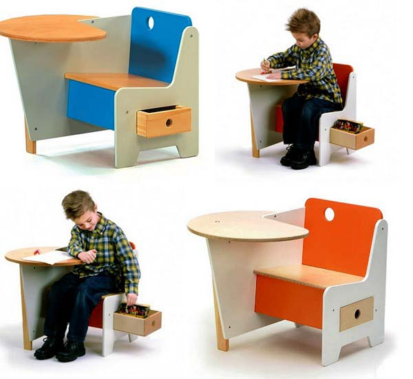 Creative Kid Rooms: Modern Furniture For Kids, Top 15 Creative Tables For Kids