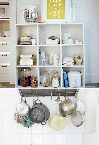 Impressive Kitchen Shelving Ideas Model