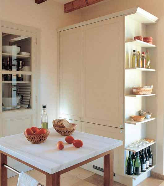 Wall Shelves Decorating Ideas Kitchen: Decorating With Food, 14 Modern Kitchen Cabinets And Wall