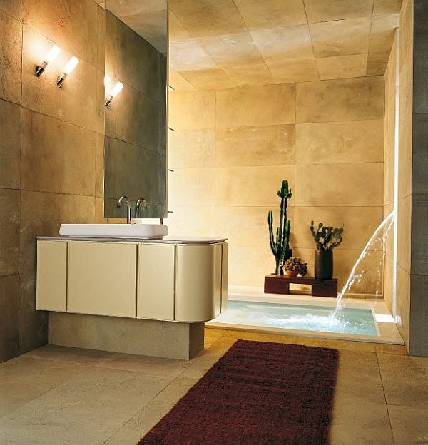 20 Modern Bathroom Designs with Contemporary In Floor ...