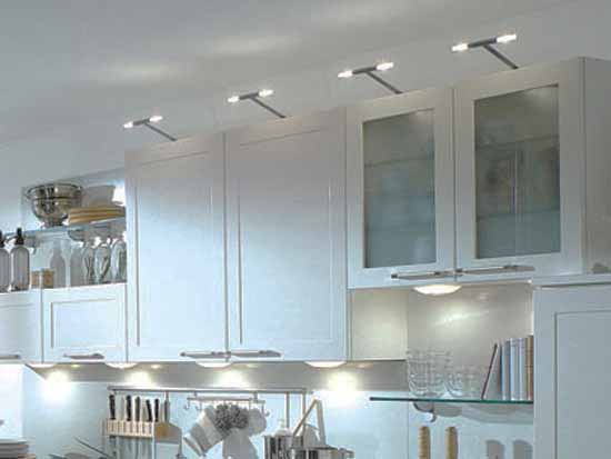 Kitchen Lights, 10 Functional Kitchen Light Ideas for Shelves and ...