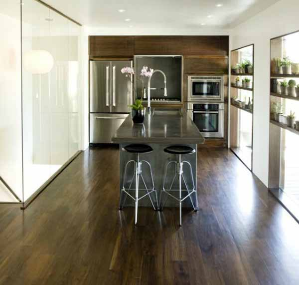 Modern Wood Kitchen Cabinets: 21 Modern Kitchen Designs, Contemporary Wood Kitchen