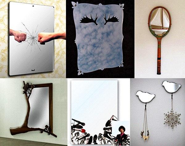decorative mirror and creative mirror sticker