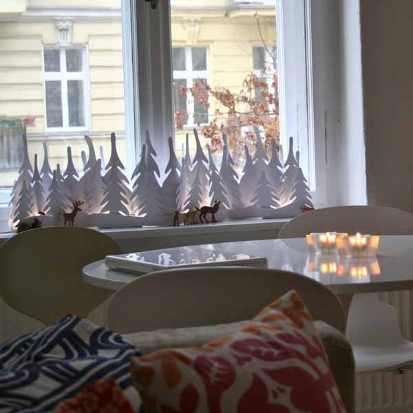 20 beautiful window sill decorating ideas for christmas and new years eve party