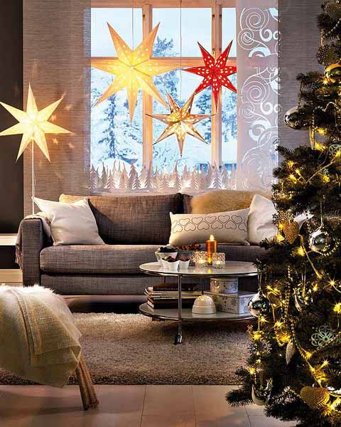 by ena russ last updated 28032013 share seasonal ideas handmade christmas decorations - Window Sill Christmas Decorations