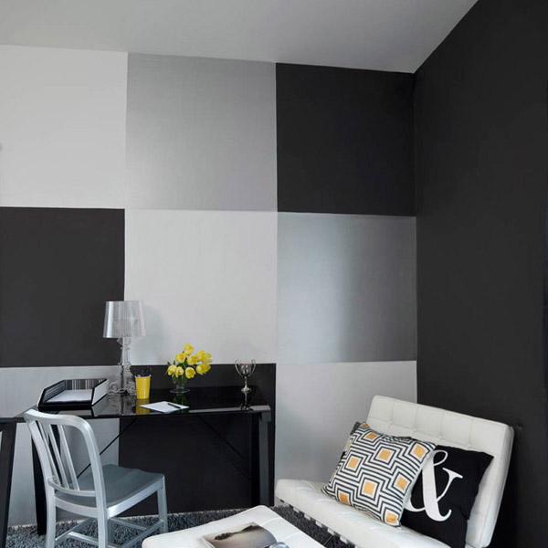 Dulux Color Trends Popular Interior Paint Colors - Black painted room