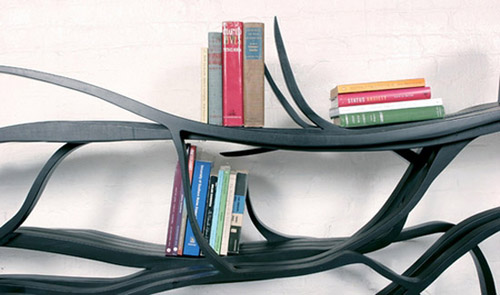 unique shelf design idea inspired by branches