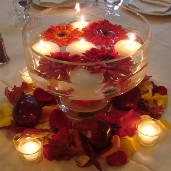 20 Candles Centerpieces Romantic Table Decorating Ideas For