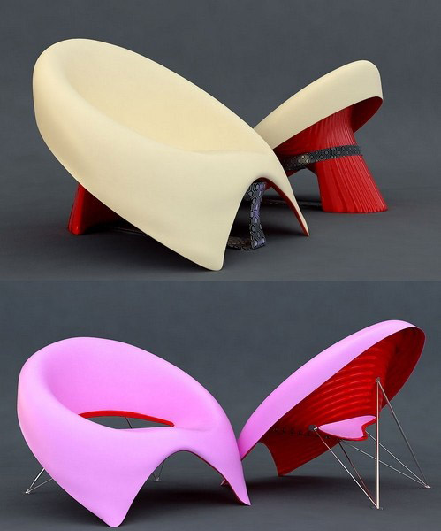 colorful contemporary chairs
