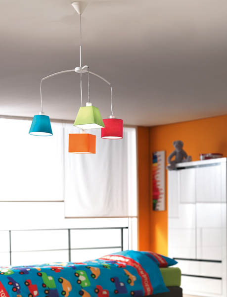 7 tips and modern lighting design ideas for kids rooms colorful chandelier for children bedroom decorating aloadofball Image collections