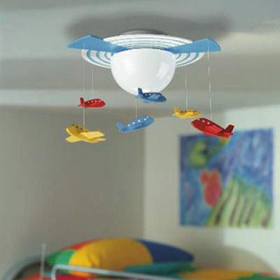 7 tips and modern lighting design ideas for kids rooms contemporary lighting ideas for kids rooms ceiling light with colorful planes for boys room aloadofball Gallery