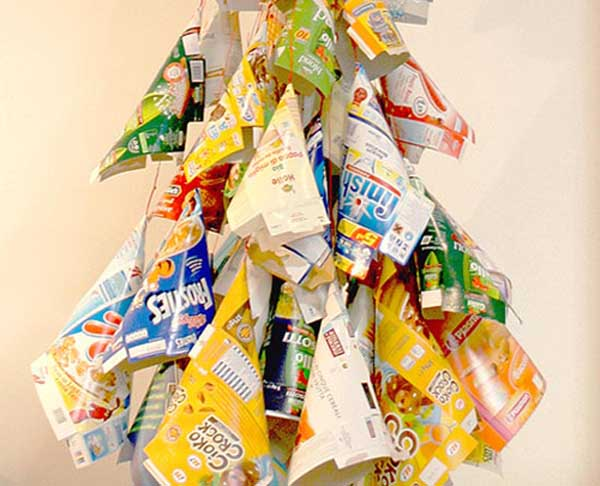 21 Ideas for Making Alternative Christmas Trees To Recycle ...