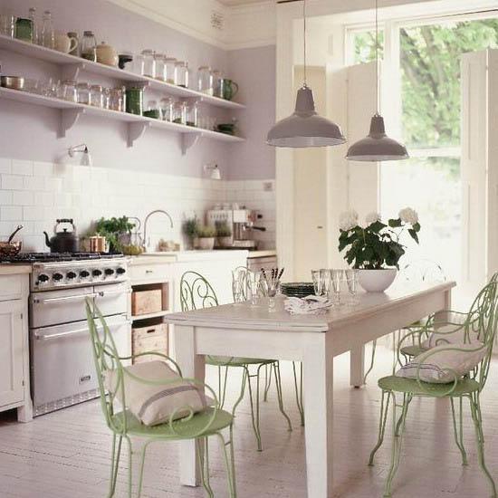Retro Modern Kitchen Decorating Ideas, Open Kitchen ...