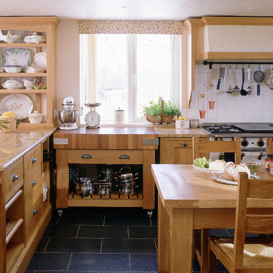 Open Kitchen Cabinet Decorating Ideas: Retro Modern Kitchen Decorating Ideas, Open Kitchen