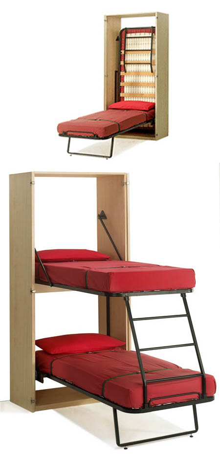 Small spaces furniture space saving beds