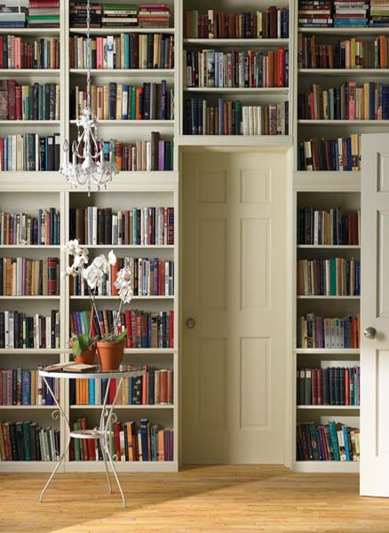 15 Modern Interior Design Ideas for Decorating with Book Shelves