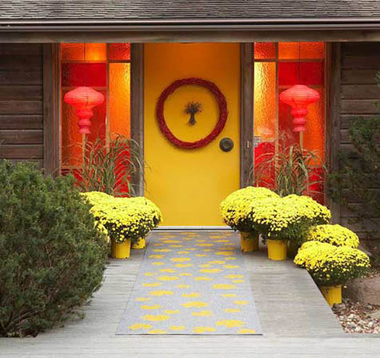 20 Front Door Ideas: House Entrance And Front Door Decoration Ideas, 20