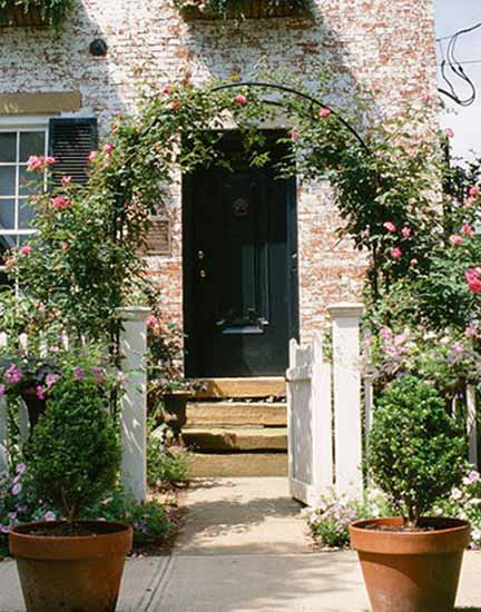 House Entrance and Front Door Decoration Ideas, 20 Gorgeous House ...