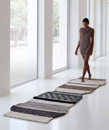 Mangas Rugs And Poufs Collection By Patricia Urquiola Contemporary