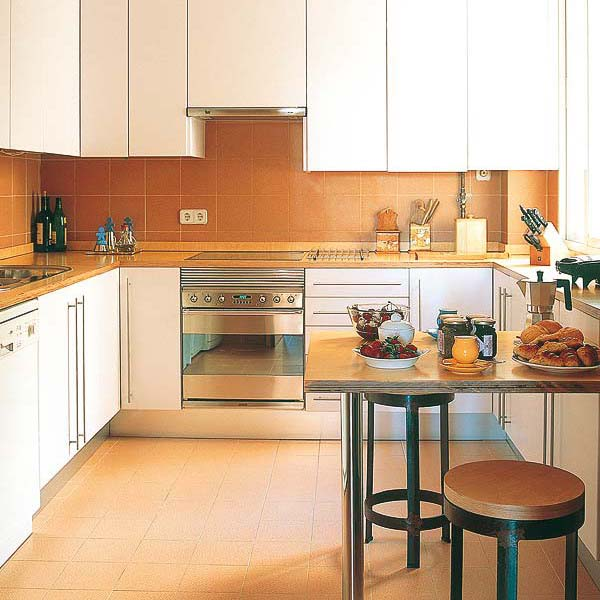 Long Narrow L Shaped Kitchen: Kitchen Design With Peninsula, 20 Modern Kitchen Designs