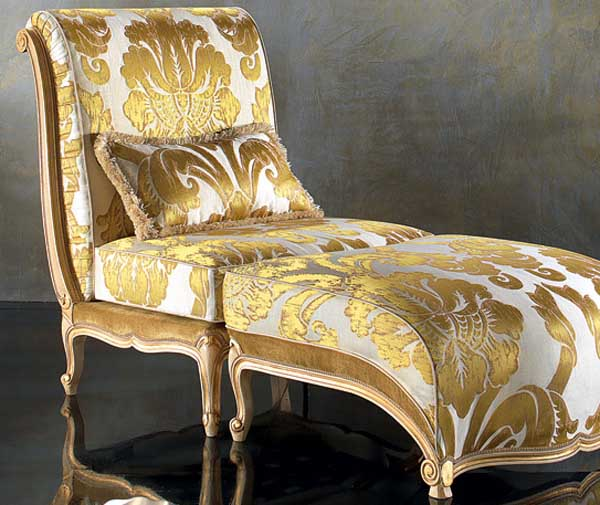 furniture upholstery fabrics in golden colors
