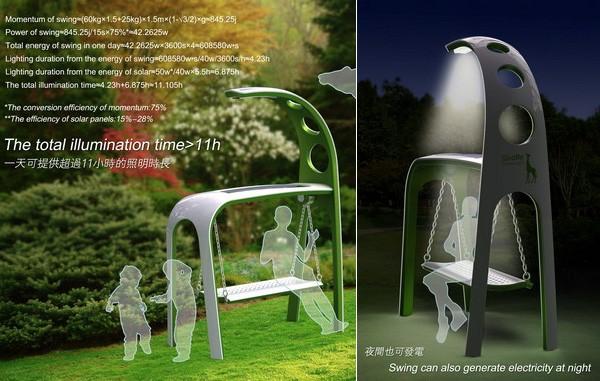 Giraffe Street Lamp Sustainable Outdoor Light Design And